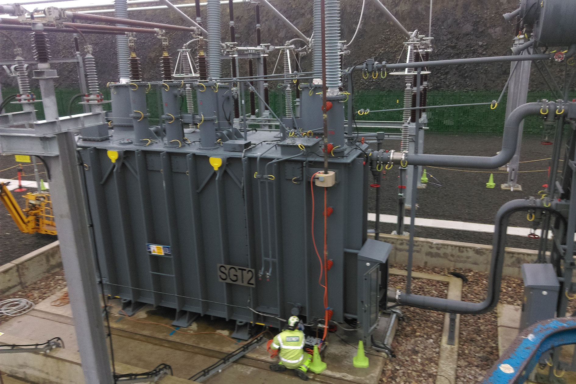 Transformer Testing, Commissioning and Condition Monitoring
